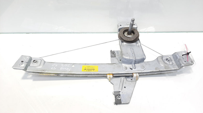 Macara manuala stanga spate, cod 9650768180, Peugeot 207 (WA) (id:476632)