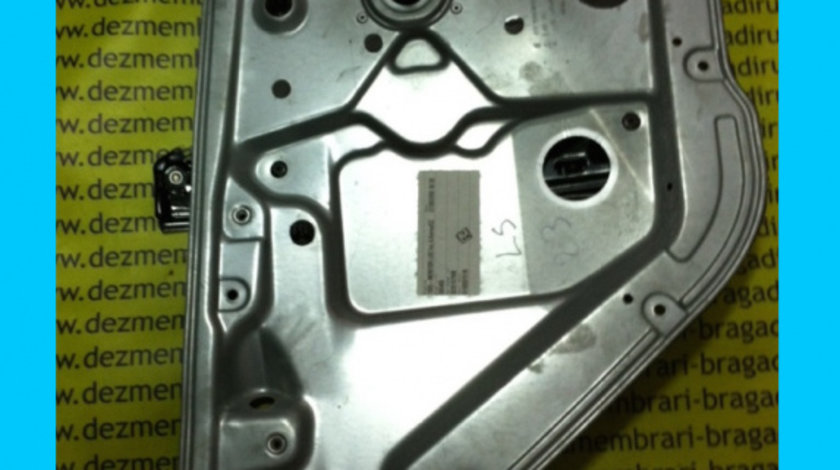 Macara manuala usa stanga spate Skoda Fabia 6Y [1999 - 2004] Sedan 1.4 MT (101 hp) (6Y3) 16V
