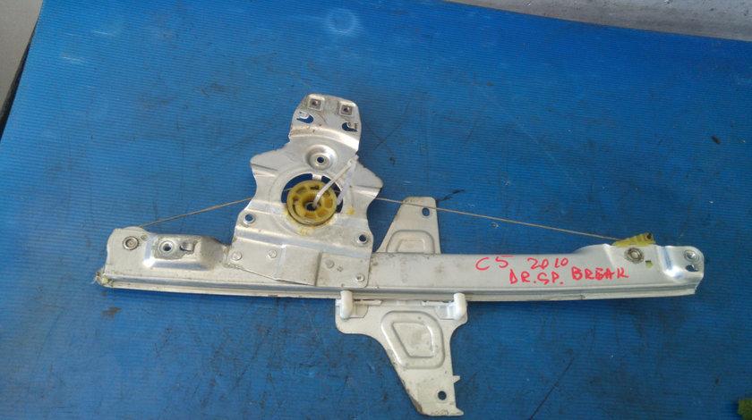 Macara usa dreapta spate citroen c5 3 break dupa 2008 9670313180