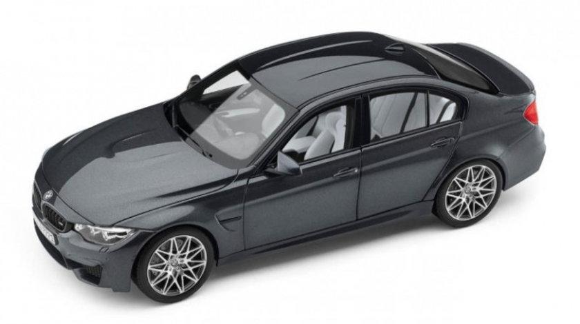 Macheta BMW M3 F80 Competition Mineral Grey 1:18