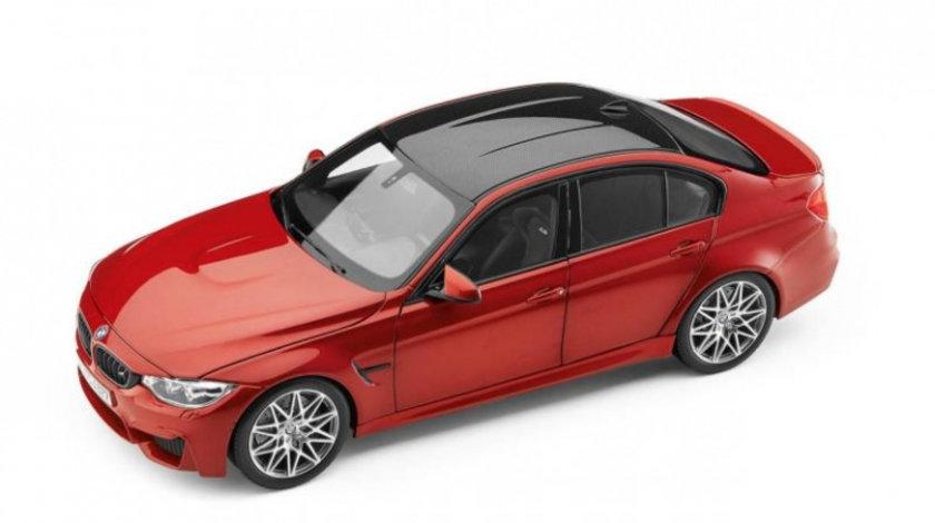 Macheta BMW M3 F80 Competition Sakhir Orange 1:18
