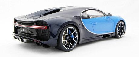 Macheta noului Bugatti Chiron costa mai mult decat majoritatea masinilor din Romania