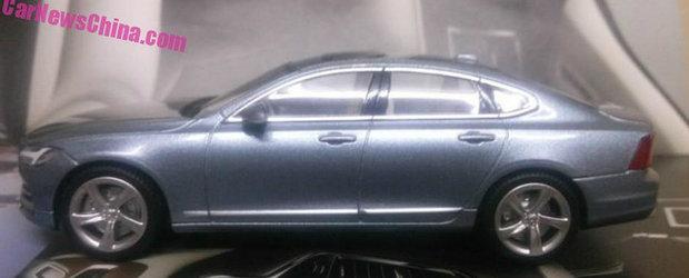 Macheta noului S90 ne dezvaluie una-alta despre urmatorul hit de la Volvo
