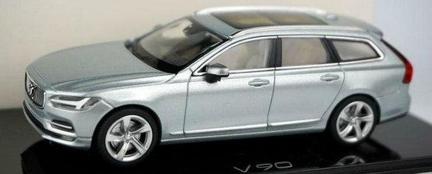 Macheta noului Volvo S90 se intoarce in sapte fotografii proaspete