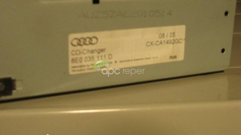 Magazie cd Audi A4 B6 B7