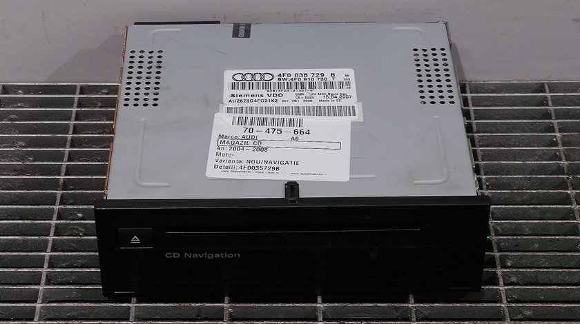 MAGAZIE CD AUDI A6 A6 - (2004 2009)