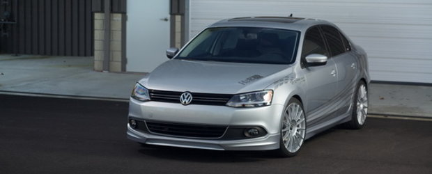 Magia arcurilor sport - Volkswagen Jetta by H&R