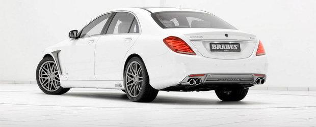 Magia continua: Brabus modifica (si) noul Mercedes S500