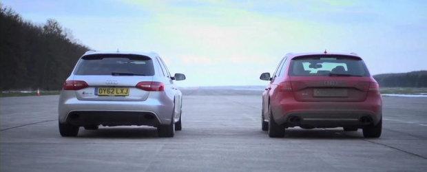 Magia Tuningului: Audi S4 modificat versus Audi RS4 stock