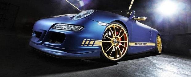 Magia Tuningului: Explozie de culori si putere pentru un Porsche 997 Carrera
