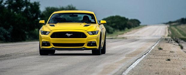 Magia Tuningului: Hennessey HPE750 e primul Mustang 2015 capabil de 335 km/h