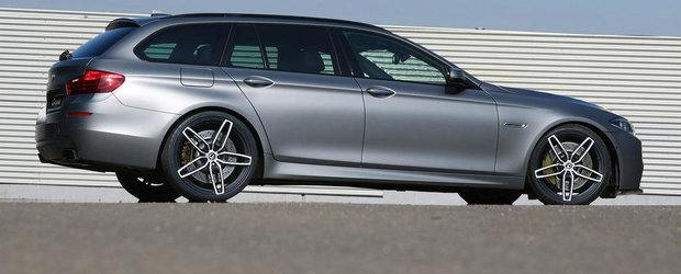 Magia Tuningului: Un BMW diesel cu performante de Porsche 911