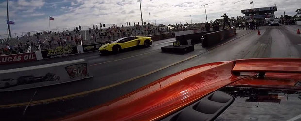 Magia Tuningului: Un McLaren modificat face de ras un Lambo Aventador