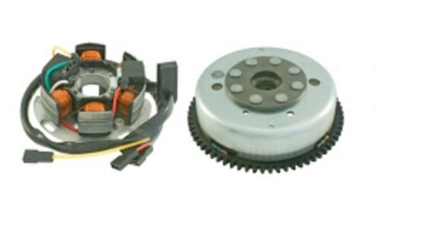 Magnetou (stator aprindere) complet Aprilia RS4 2T (11) - Derbi GPR (09-10) - GPR Nude (07) - GPR R