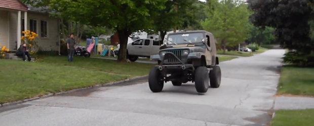 Mai face el din cand in cand pe nebunul, insa nu te va lasa la greu: Uite Jeep-ul Wrangler cu motor V8!