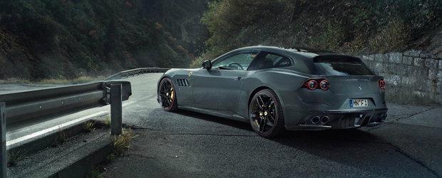 Mai multa putere nu strica niciodata. Ferrari GTC4Lusso primeste 709 cai putere de la Novitec