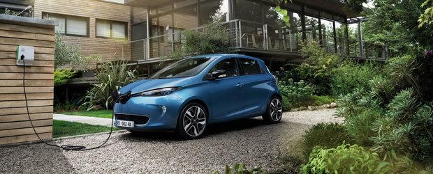 Mai multa putere pentru ZOE. Electrica de la Renault este disponibila si in Romania cu 110 cai putere
