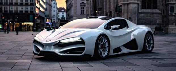 Mai multe imagini cu masina care pune Bugatti si Koenigsegg cu botul pe labe. Face suta in 2.4 secunde