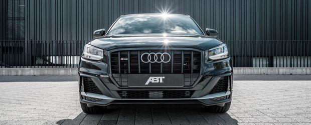 Mai multi cai putere pentru cel mai accesibil SUV de la Audi. Pachetul oferit de ABT poate fi deja comandat