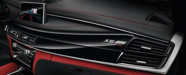 Mai negru de-atat nu se poate. BMW X5 M si X6 M primeste editia speciala Black Fire