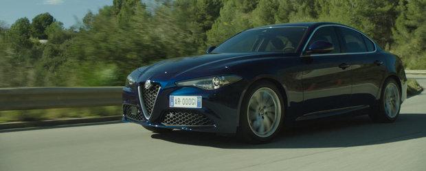 Mai tare ca un BMW Seria 3? Noua Alfa Giulia ni se dezvaluie in cele mai clare cadre de pana acum