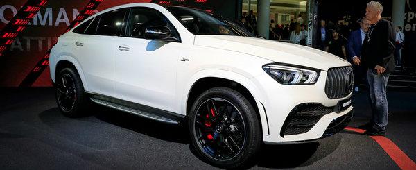 Mai tare decat un BMW X6? Uite cum arata pe viu noul Mercedes GLE Coupe!
