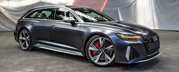 Mai tare decat un M5? Uite cum arata pe viu noul RS6 Avant!