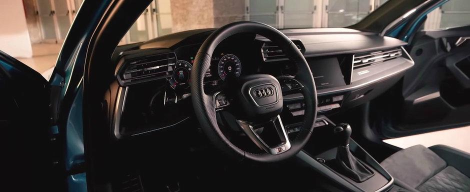 Mai tare decat un Mercedes A-Class? Uite cum arata pe viu noul Audi A3 Sportback!
