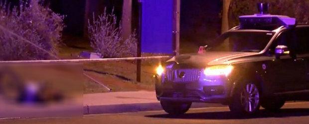 Mai tii minte cand un Volvo autonom a ucis o femeie? Soferul de siguranta tocmai a fost acuzat de omor
