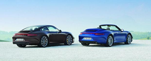 Mai usor, mai puternic, mai agil: Porsche dezvaluie noul Carrera 4