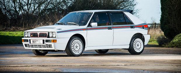 Mamma Mia! Britanicii scot la vanzare o Lancia Delta Integrale nou-nouta!