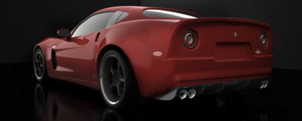 Mandria americano-italiana: un Corvette imbracat italieneste