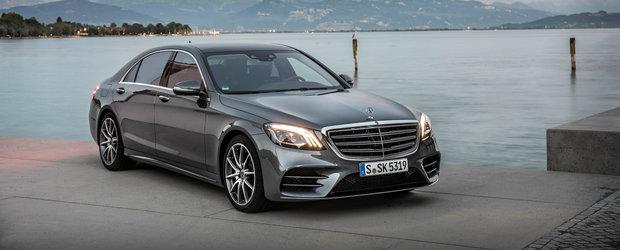 Mandria nemtilor de la Mercedes este de acum disponibila si in Romania. De la cat pleaca noul S-Class