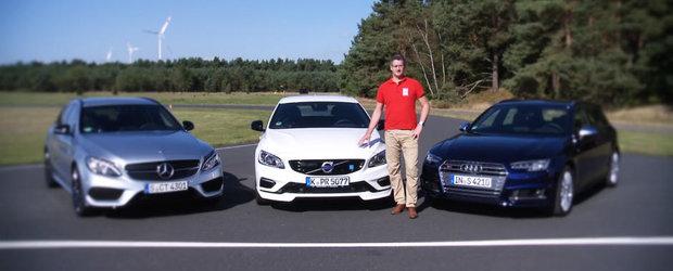 Mandria suedezilor ranita in orgoliu de Mercedes-ul C43 si de Audi-ul S4 intr-un razboi al masinilor kombi