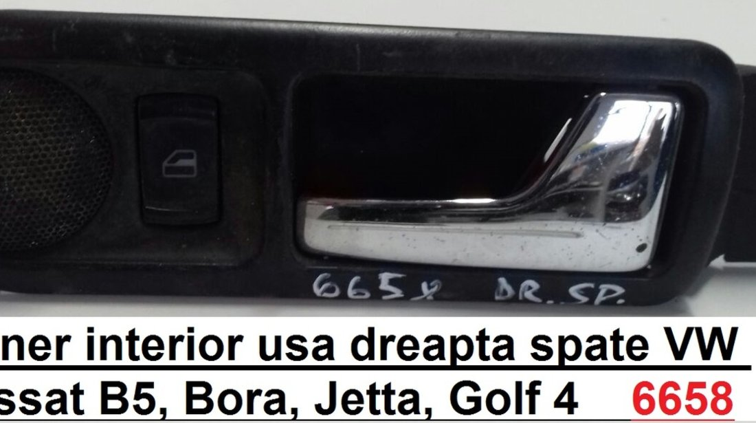Maner interior usa dreapta spate Volkswagen Passat B5