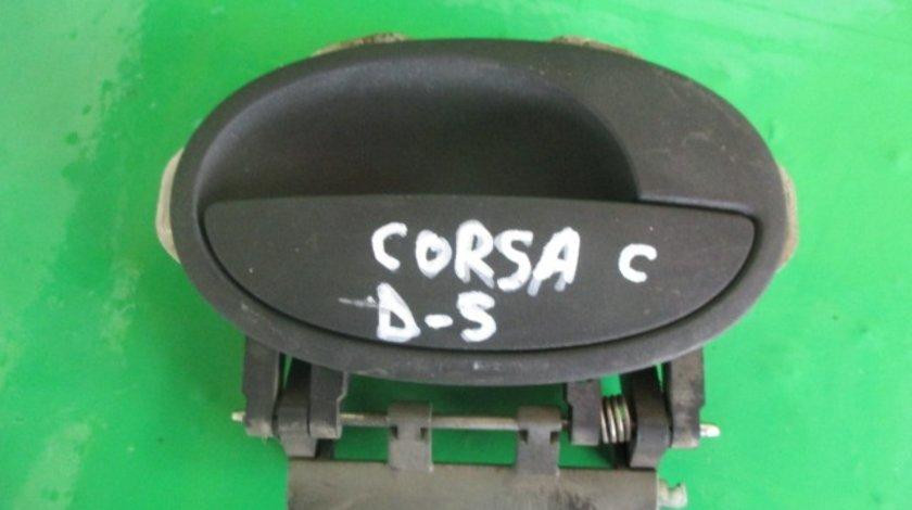 MANER USA EXTERIOR DREAPTA SPATE OPEL CORSA C FAB. 2000 – 2006