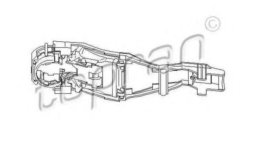 Maner usa SEAT IBIZA IV (6L1) (2002 - 2009) TOPRAN 111 186 piesa NOUA