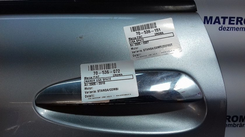 MANER USA SPATE STANGA FIAT CROMA CROMA - (2005 2010)