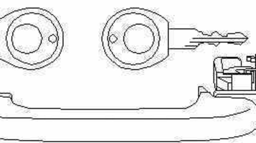 maner usa VW GOLF III 1H1 TOPRAN 112 303