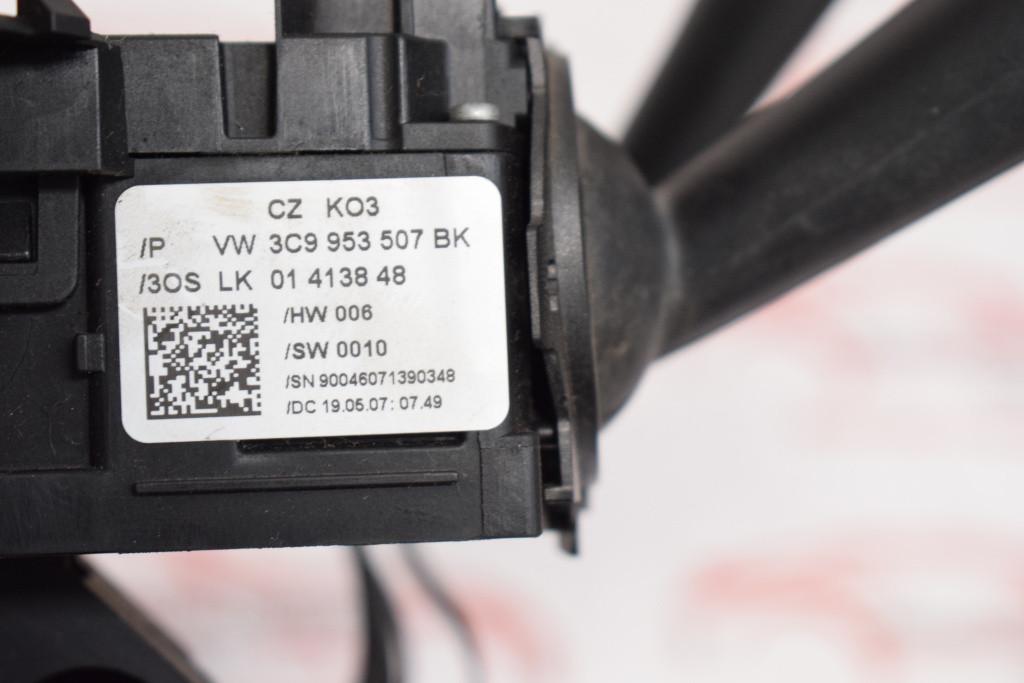 Maneta stergatoare cu tempomat VW Passat B6 3C9953507BK 525