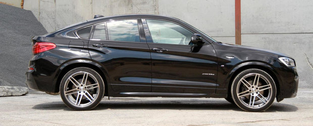 Manhart Racing da startul sezonului de tuning pentru BMW X4