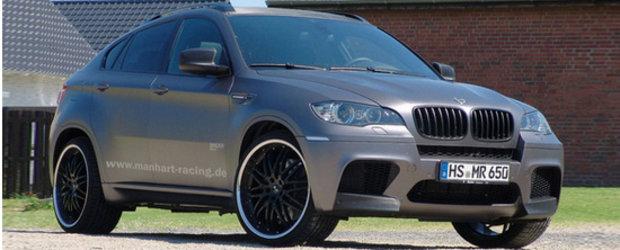 Manhart Racing M6XR - Pentru ca BMW X6 M nu mai este indeajuns