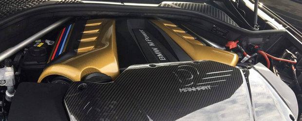 Manhart se ofera sa duca BMW-ul X6M in 823 de cai si 1.100 Nm. Cum arata acum SUV-ul german