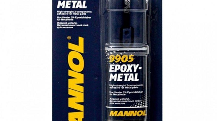 Mannol Epoxy-Metal Adeziv Pentru Componente Din Metal 30G
