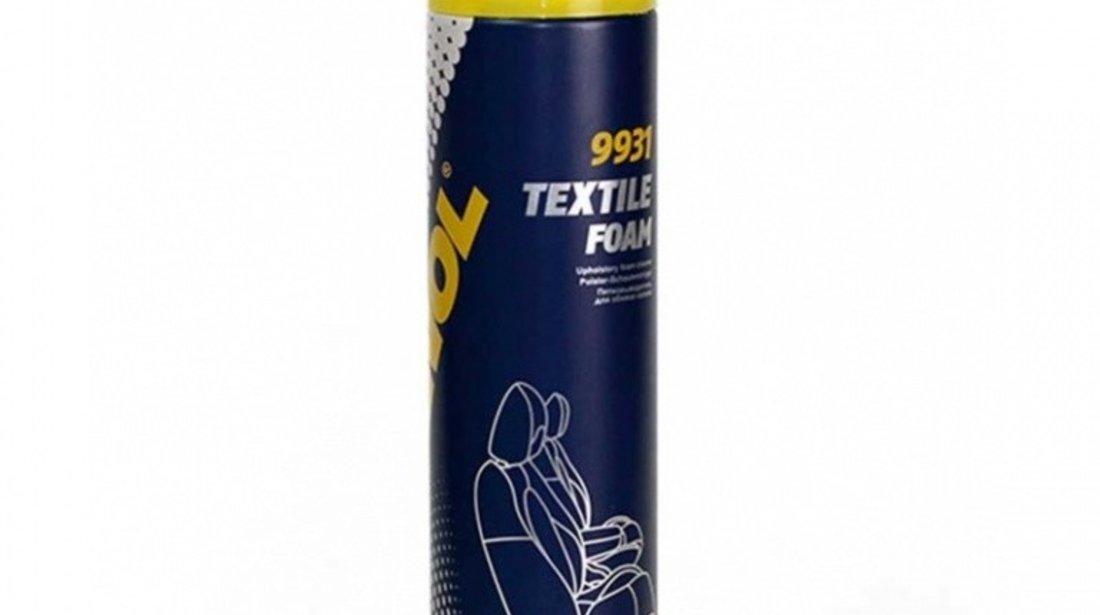 Mannol Spray Curatat Tapiterie Cu Perie 650ML 9931