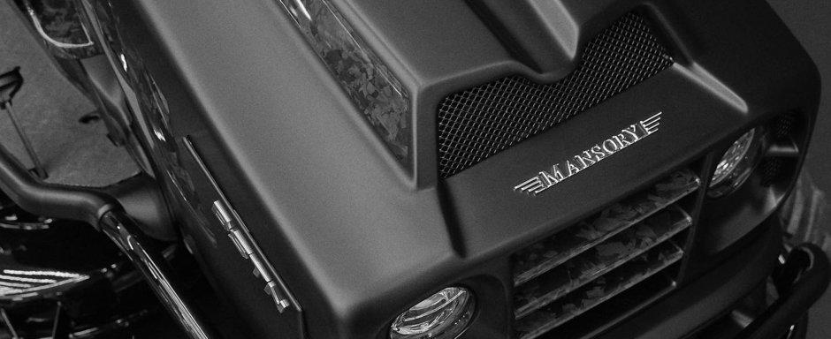 Mansory a luat o pauza de la tunat Lamborghini si Bugatti si s-a apucat de modificat...masini de tuns iarba