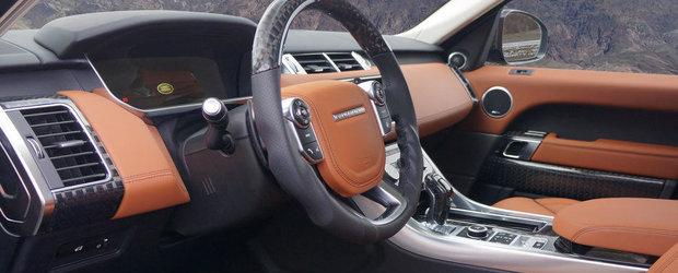 Mansory modifica noul Range Rover Sport pentru Top Marques Monaco 2014