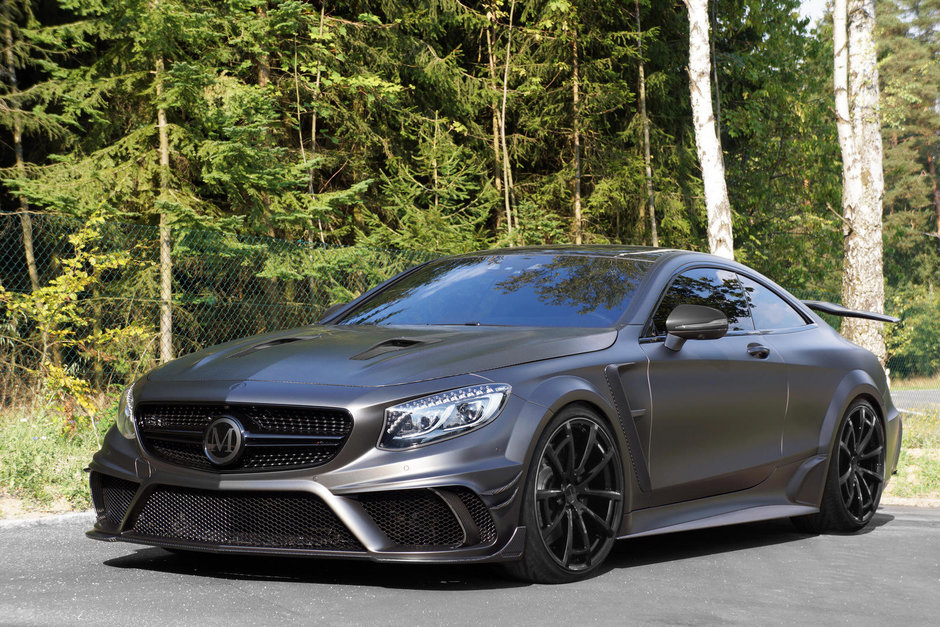 Mansory S63 AMG Coupe Black Edition