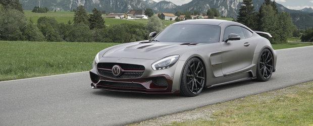 Mansory scoate pe piata cel mai puternic Mercedes AMG GT de pana acum. Cum arata si ce poate