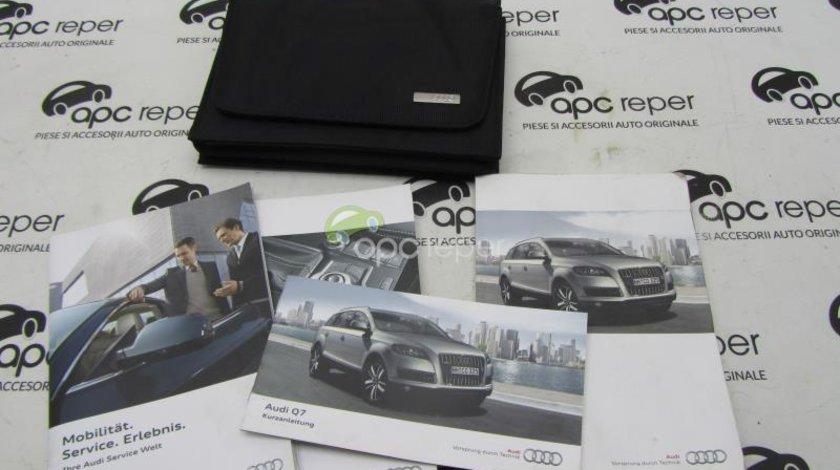 Mapa acte / Carti in limba Germana Audi Q7 4L Facelift